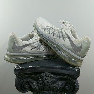 Nike Air Max 2015 White Metallic Silver Size 12
